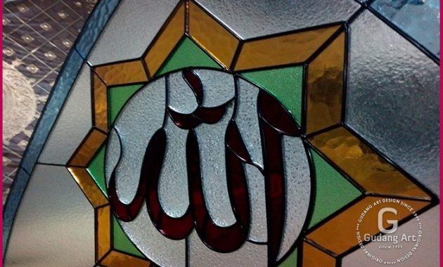 Harga Kaca Patri Kaligrafi